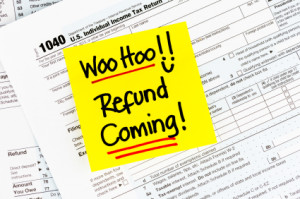 Tax Refund and bankruptcy